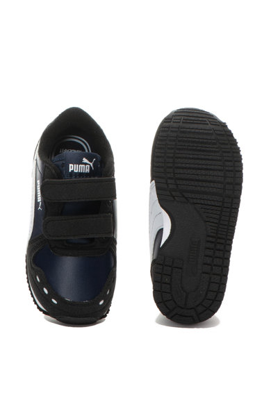 Puma Pantofi sport de piele ecologica Cabana Racer SL Baieti