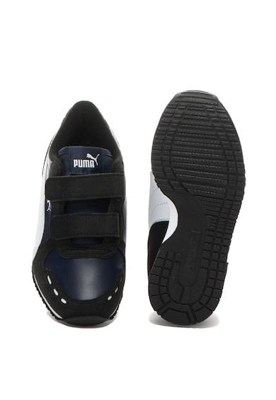 Puma Pantofi sport de piele ecologica Cabana Racer Baieti