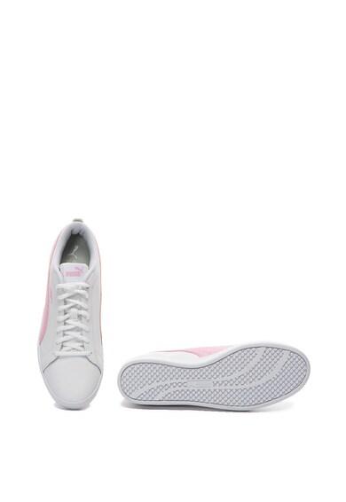 Puma Pantofi sport de piele si piele ecologica Smash Femei