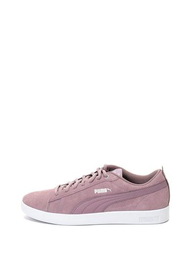 Puma Smash nyersbőr sneakers cipő női
