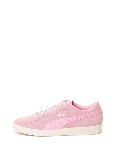 Puma Спортни обувки Smash v2 от кожа и еко кожа Жени