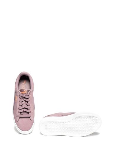 Puma Vikky nyersbőr flatform sneaker puha talpbetéttel női