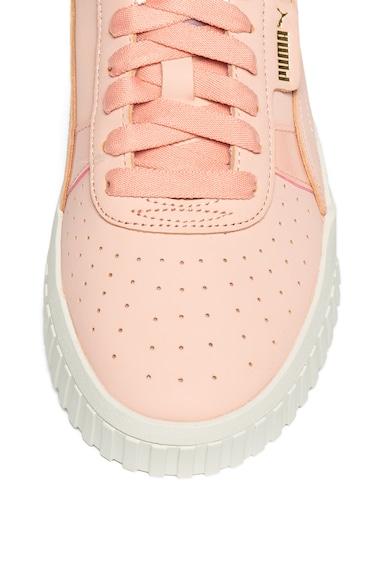 Puma Pantofi sport de piele nabuc Cali Femei