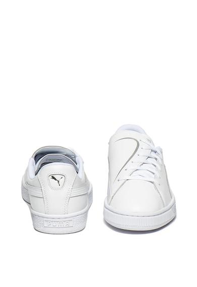Puma Pantofi sport de piele Basket Crush Femei