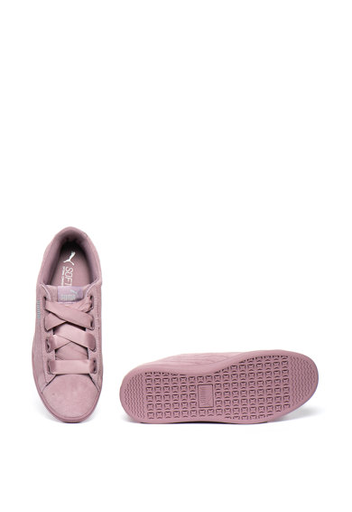 Puma Vikky v2 szalagos nyersbőr sneaker logómintával női