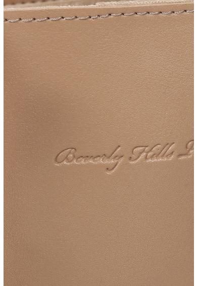 Beverly Hills Polo Club Geanta tote mica de piele ecologica cu talisman Femei