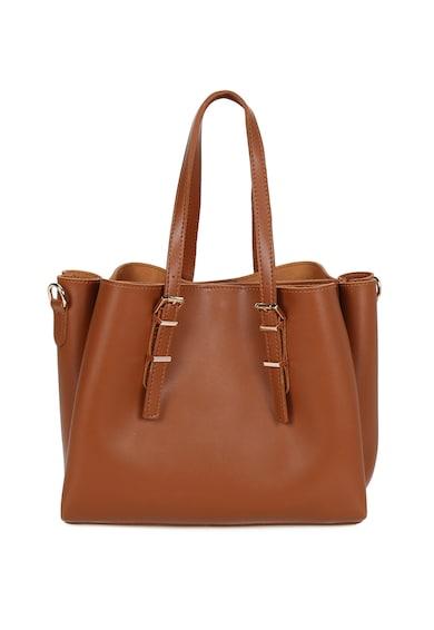 Beverly Hills Polo Club Малка шопинг чанта от еко кожа с висулка Жени