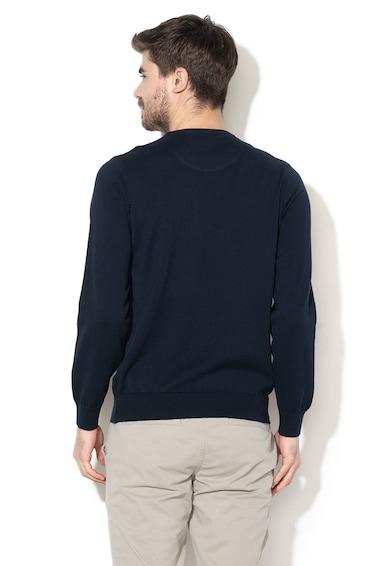 Lacoste Pulover tricotat fin cu logo brodat Barbati
