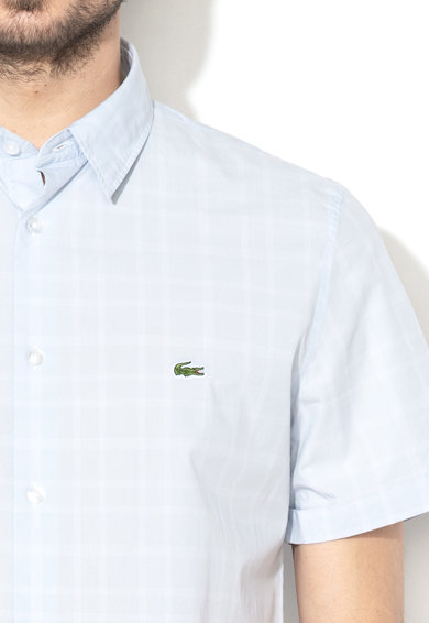 Lacoste Slim fit rövid ujjú ing férfi