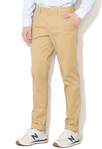 Lacoste Pantaloni chino slim fit Barbati