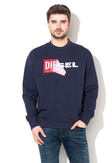 Diesel Samy logómintás pulóver férfi