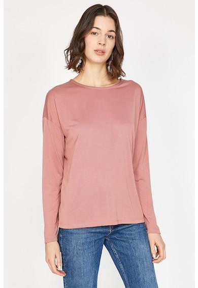 KOTON Bluza din amestec de modal cu decupaj pe partea din spate Femei