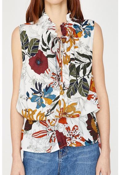 KOTON Bluza cu imprimeu floral fara maneci Femei