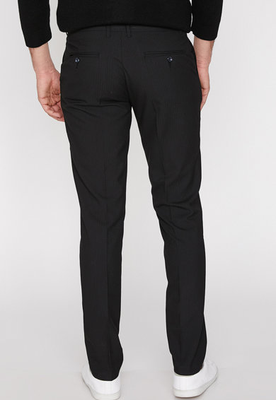 KOTON Pantaloni eleganti slim fit in dungi Barbati