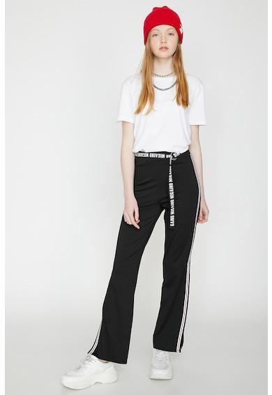 KOTON Pantaloni cu slituri laterale Femei