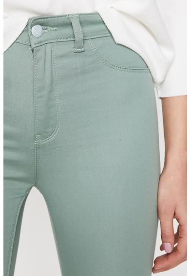 KOTON Pantaloni crop B Femei