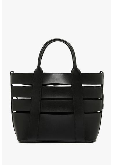 KOTON Műbőr shopper táska belső kistáskával női