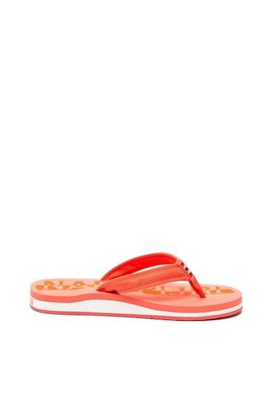 Napapijri Sariel flip-flop papucs nyomott logóval női