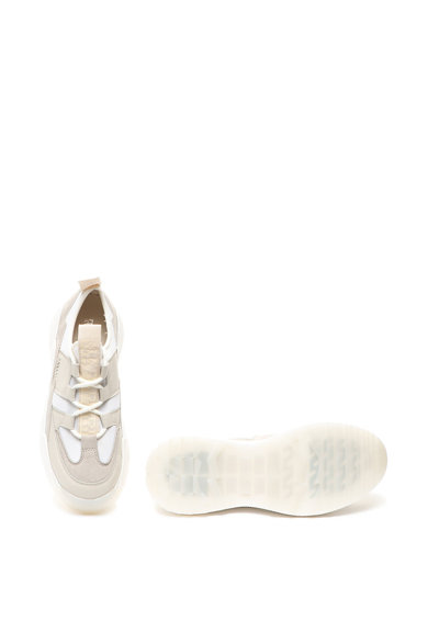 Napapijri Pantofi sport slip-on de piele si piele intoarsa Blanche Femei