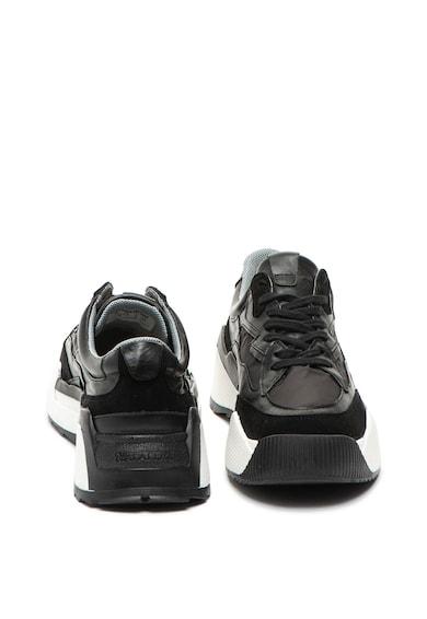 Napapijri Pantofi sport de piele si piele intoarsa Blanche Femei