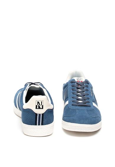 Napapijri Pantofi sport de piele intoarsa cu perforatii Court Barbati
