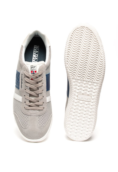 Napapijri Pantofi sport de piele intoarsa, cu garnituri de piele ecologica Court N0YJT1 Barbati