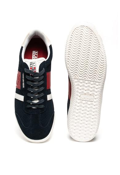 Napapijri Pantofi sport de piele intoarsa, cu garnituri de piele ecologica Court Barbati