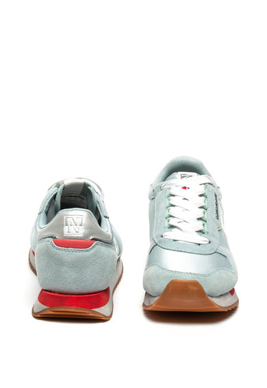 Napapijri Спортни обувки Vicky с детайли от велур и кожа Жени