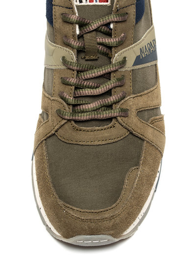 Napapijri Pantofi sport cu garnituri de piele intoarsa Rebut 4 Barbati