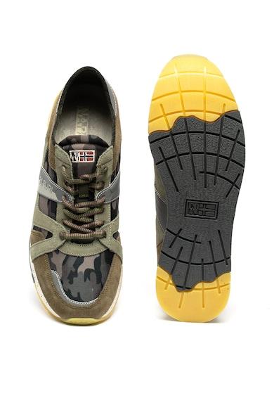 Napapijri Rebut sneaker nyersbőr szegélyekkel férfi