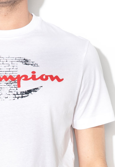 Champion Tricou cu imprimeu logo cauciucat Barbati