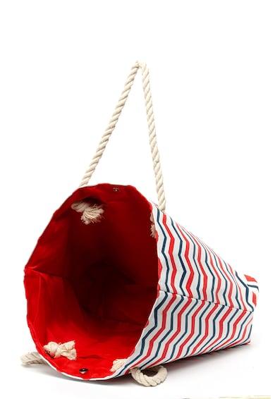 ELLESSE Унисекс плажна чанта на райе Жени