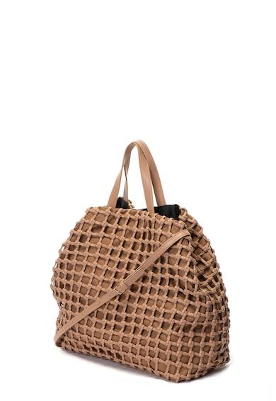 Sisley Geanta shopper de piele ecologica Femei