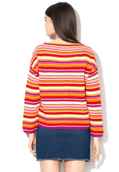 United Colors of Benetton Pulover din tricot, cu dungi Femei