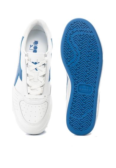 Diadora Pantofi sport de piele si piele ecologica B Elite Barbati