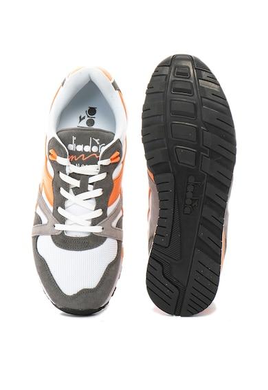 Diadora N9000 sneakers cipő nyersbőr szegélyekkel férfi