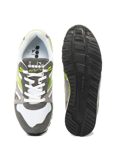 Diadora Pantofi sport cu garnituri de piele intoarsa N9000 III Barbati