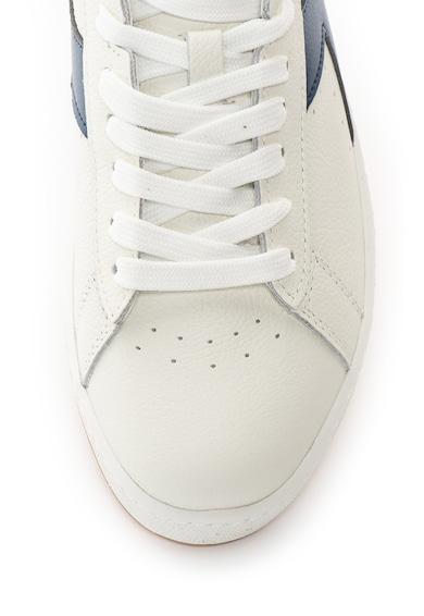 Diadora Pantofi sport de piele cu garnituri de piele intoarsa ecologica Game L Barbati