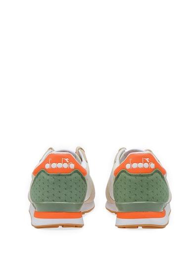 Diadora Pantofi sport de piele intoarsa si material textil Camaro Summer Barbati