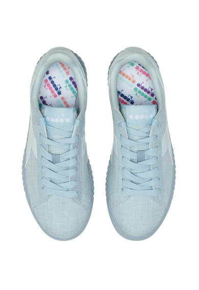 Diadora Pantofi sport cu garnituri de piele ecologica Game Step Femei