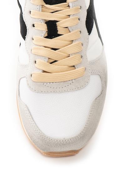 Diadora Pantofi sport cu aspect uzat si garnituri de piele intoarsa Camaro Barbati