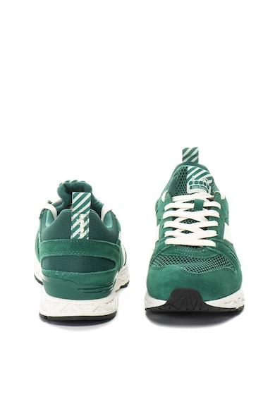 Diadora Pantofi sport cu insertii de piele intoarsa Titan Reborn Barra Barbati