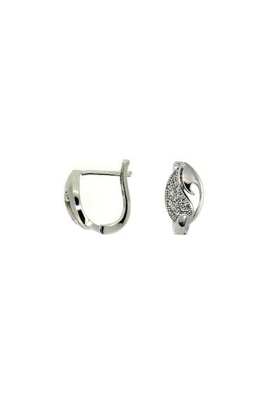 Rankine-Silver Cercei de argint 925 cu cristale zirconia Femei