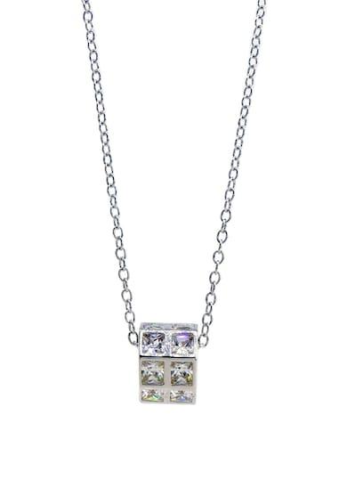 Rankine-Silver Colier de argint 925 cu pandantiv cu zirconiu Femei