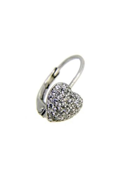 Rankine-Silver Cercei in forma de inima, de argint 925 cu cristale zirconiu Femei