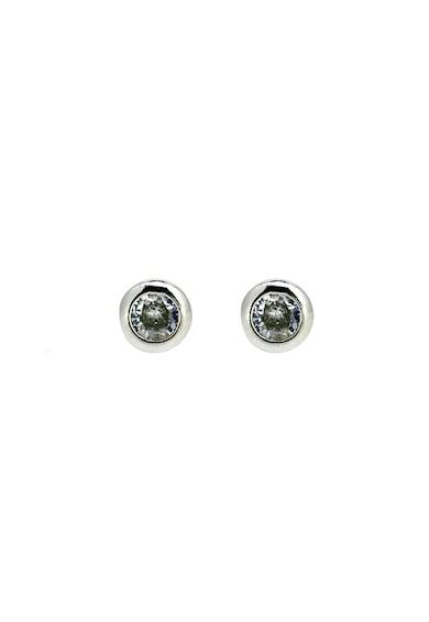 Rankine-Silver Cercei cu tija din argint 925 decorati cu zirconia Femei