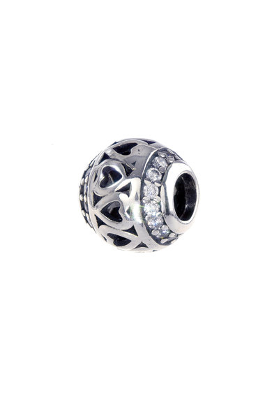 Rankine-Silver Talisman de argint decorat cu cristale zirconia Femei