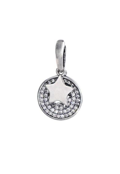 Rankine-Silver Pandantiv de arigint decorat cu cristale zirconia Femei