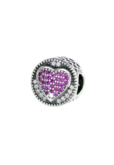 Rankine-Silver Talisman de argint decorat cu cristal zirconia Femei