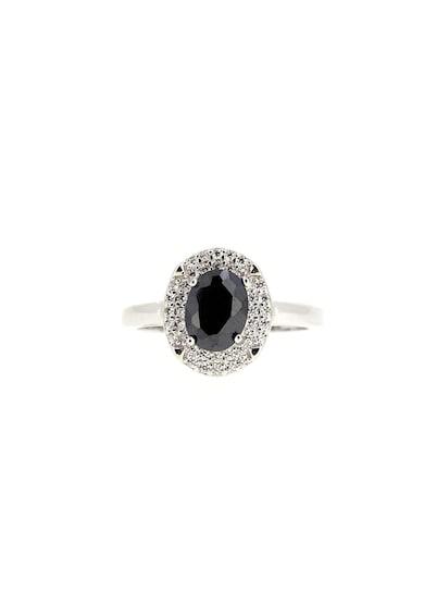Rankine-Silver Inel de argint cu cristale Femei